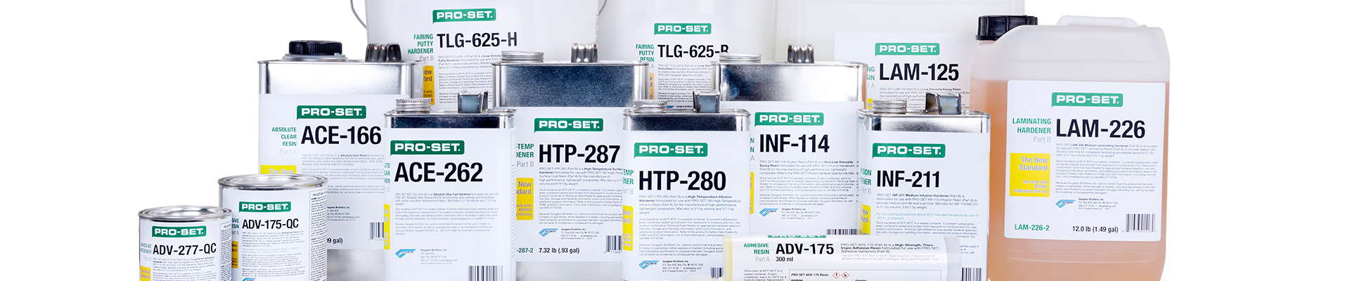 New Product Line - PRO-SET Epoxies and Adhesives