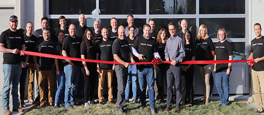 Filament Winding Facility Expansion Ribbon-Cutting Ceremony
