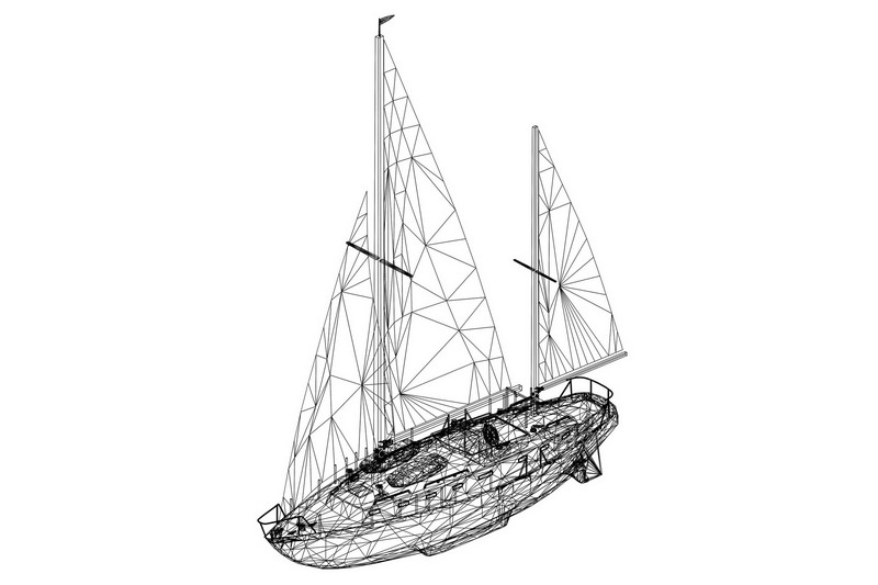 How to Print a Yacht with Carbon Fiber