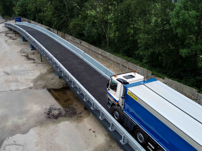 Dutch Company to Test Temporary Composite Bridges