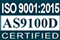 ISO 9001:2015 and AS9100D Certified