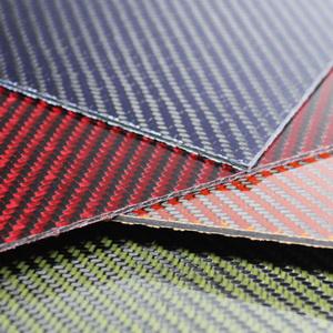 Carbon + Kevlar Hybrid Plate
