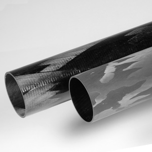 Round Carbon Fiber Tubing Rock West Composites