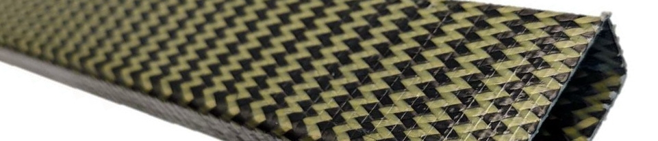 Carbon + Aramid Braided