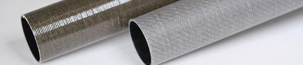 Carbon + Ekoa Fiber Tubing