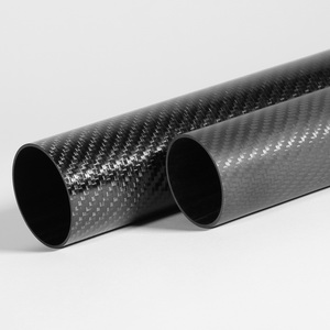 Roll Wrapped Carbon Fiber Tubing