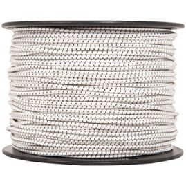 "Shock Cord - White - 0.313"" (sold by the foot)"