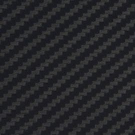Carbon Fiber Vinyl - Black - Textured - 12 x 60 Inch - Sold by the linear foot in continuous lengths