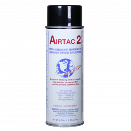Airtac 2 - Temporary Spray - Contact Adhesive - 16.75oz
