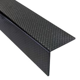 "Angle - Plain Weave - 90 Degree Sharp - 1.50"" Legs x 0.08"" (2mm) Thick"