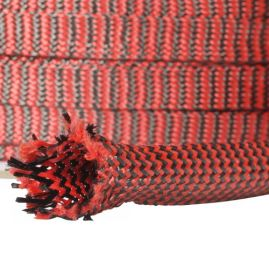 Images - Red Carbon/Kevlar Braided Sleeve