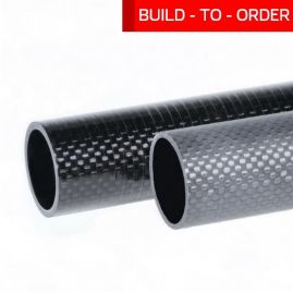 Tube - Plain Weave - POS ZTE - 2.000 X 2.183 X 102 Inch  [BUILT TO ORDER]