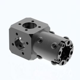 "CARBONNect Main Block with One Adapter - Round - 1.0"", 1.5"" & 2.0"" Systems"