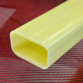 Tube - Rectangle - Fiberglass - 1.00 x 2.00 - 1.33 x 2.13 x 75 inch
