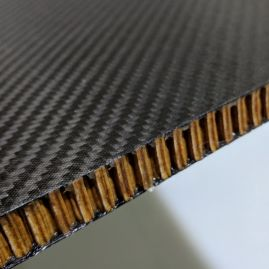 Sandwich Panel - Carbon Fiber Skin with Aramid Honeycomb Core