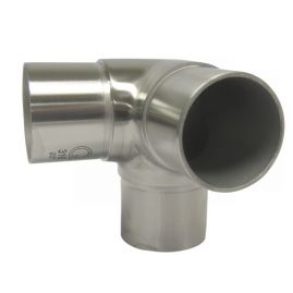3-WAY - Flush Connector -  Brushed SS - 2.0 IN  (BLOWOUT)
