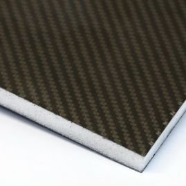 Images - Sandwich Foam Core Twill Matte Skin