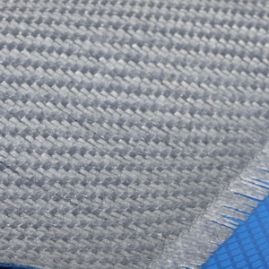 "Prepreg - Fiberglass Fabric (Aluminized Texalium E-Glass) - 40"" Wide x 0.0125"" Thick - 2x2 Twill Weave (527 gsm OAW)"