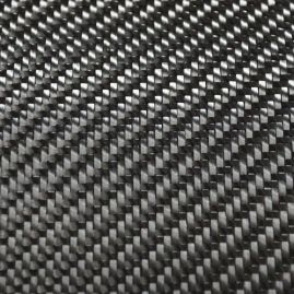 "Dry Woven Fabric - Carbon Fiber - 2x2 Twill - Standard Modulus - 50"" Wide x  0.0253"" Thick - Various Sizes Available"