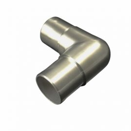 90 - Flush Connector -  Brushed SS - 1.5 IN (BLOWOUT)