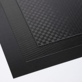 Plate - Carbon Fiber - Various Patterns, Sizes & Thicknesses