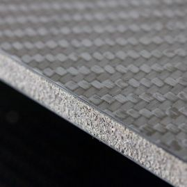 Carbon Fiber Face Sheets with Foam Core