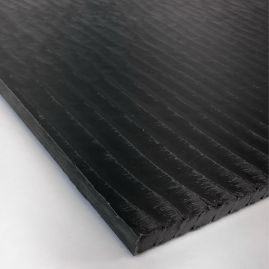 "Carbon Reinforced Plate / Block - Carbon/PEEK - 0.375"" / 9.5mm thick (+options)"