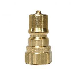 "QC-2 1/4"" NPT PLUG, male Vacuum fitting, quick connect"