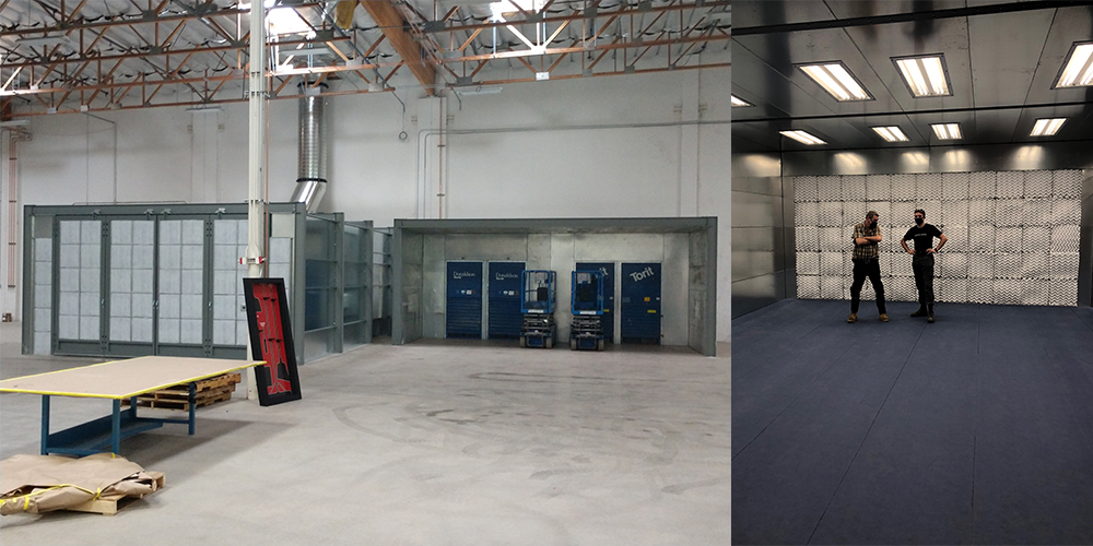 Spray Booth and Grinding Booth