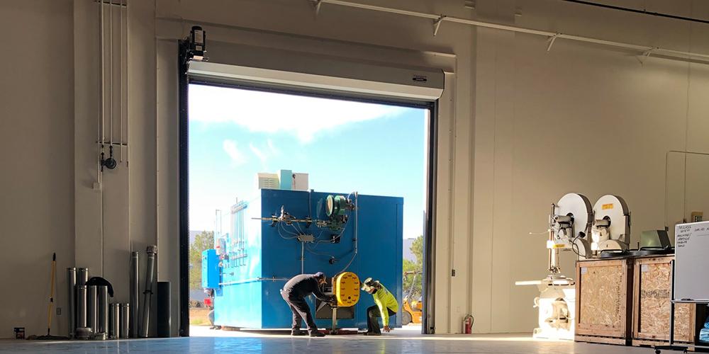 16' x 16' Door for Warehouse Access