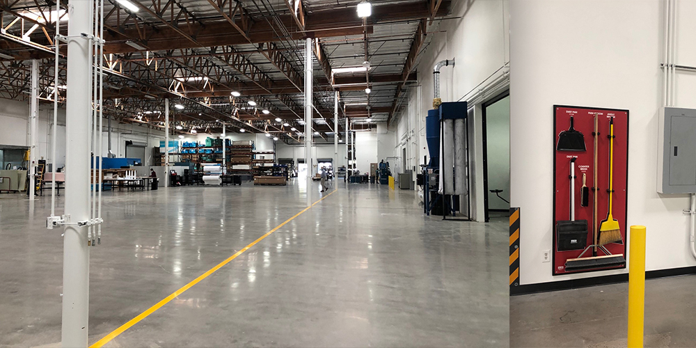 Large, Clean Manufacturing Space