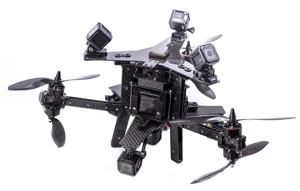 Aerial Virtual Reality Camera Platform