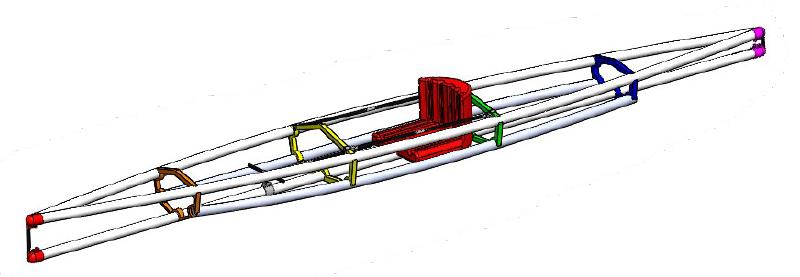 CAD of Kayak