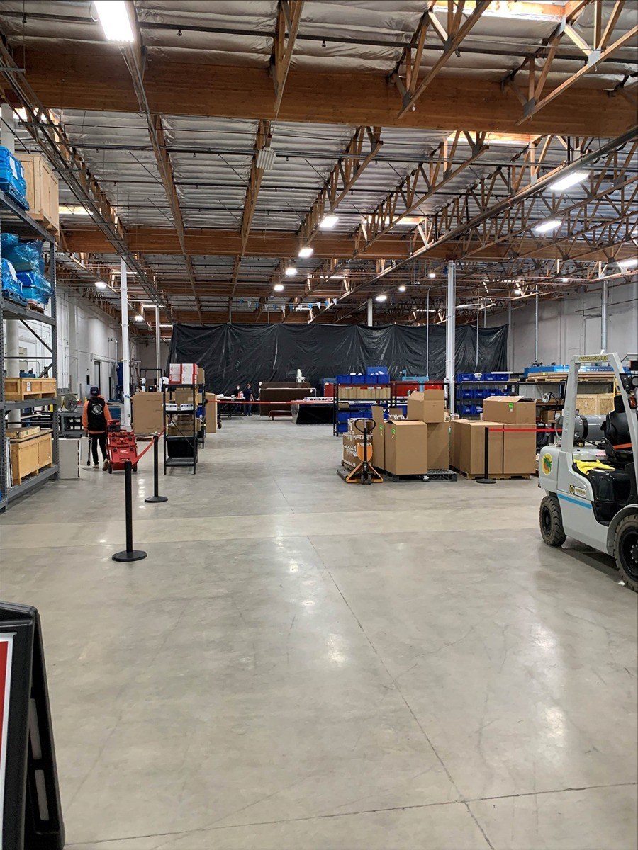 Warehouse Move-in