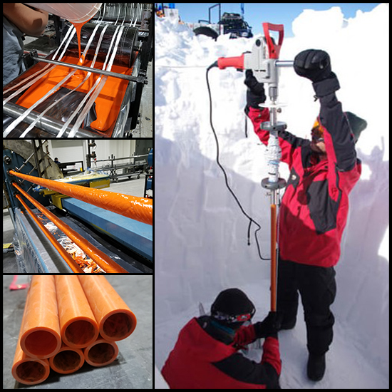 Custom Torsion Tubes for Ice Drilling Equipment