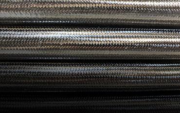 Carbon Fiber All Braid Tubing