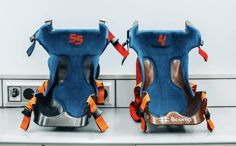 McLaren Formula One Fiber Composite Seat