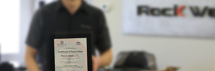 Rock West Composites Achieves ISO 9001:2008 with AS9100C Certification