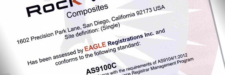 Rock West Composites' San Diego Facility Achieves AS9100C Certification