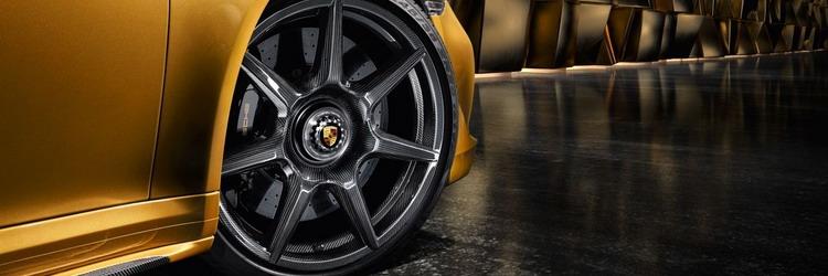 Porsche Introduces High Performance Braided Carbon Fiber Wheel