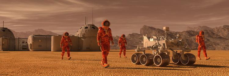 Composite Materials, Mars, and Elon Musk's Dream