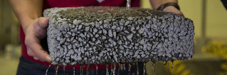Chopped-Up Carbon Fiber Waste Shown to Make Pervious Concrete Stronger