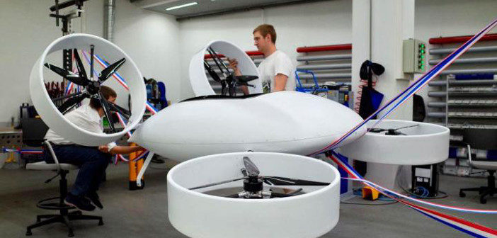 Composites Contribute to Building a Flying Car that Works